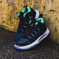 """Баскетбольные кроссовки Air Jordan Jumpman 2020 PF """"Black/Green"""", фото 1"""