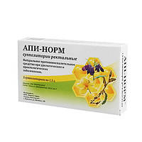 АПІ-НОРМ Супозиторії ректальні № 5