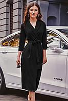 S, M, L / Вишукане вечірнє чорне плаття на запах