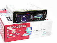 Автомагнітола Pioneer DEH-5250SD DVD знімна панель USB+Sd+MMC