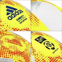 Мяч футбольный Adidas Conext 19 Top Capitano ED4934 №5 Белый, фото 3