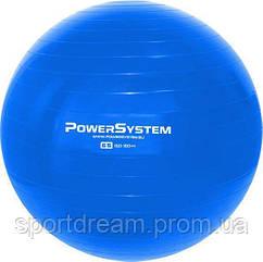 Мяч для фитнеса и гимнастики POWER SYSTEM PS-4012 65 cm Blue