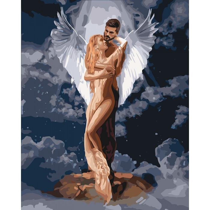 Картина за номерами Ти мій янгол 40х50см КНО4665 Ідейка