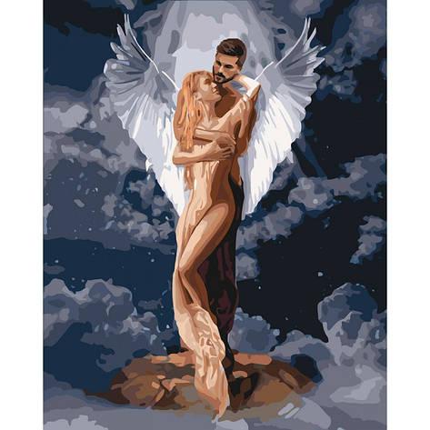 Картина по номерам Ти мій янгол 40x50см КНО4665 Идейка, фото 2