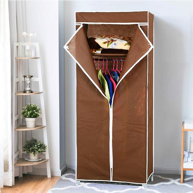 """Шкаф - гардероб тканевый складной  """"8863 Brown"""""""