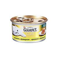 Gourmet Gold (Гурмет Голд) кусочки в паштете с кроликом по-французски - 85г