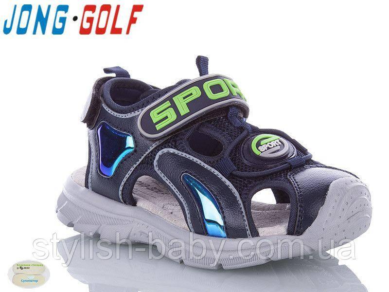 Детская летняя обувь 2020 оптом. Детские босоножки бренда Jong Golf для мальчиков (рр. с 26 по 31)