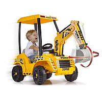 Детский электромобиль FEBER Экскаватор 12V Digger 12320