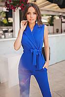 S, M, L, XL / Молодіжний синій брючний костюм