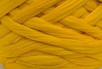 Шерсть для валяния австралийский меринос 23 микрон (10 грамм = 25 см) - Канарейка. Фелтинг. Вовна