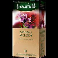 "Чай пакетированный черный Greenfield ""Spring melody"" 25шт Чебрец с мятой"