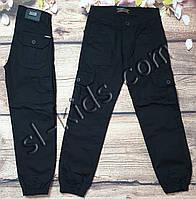 Джоггеры для мальчика 6-10 лет(черные) розн пр.Турция, фото 1