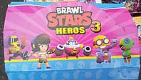 Фигурки с карточками Brawl Stars 3 сезон