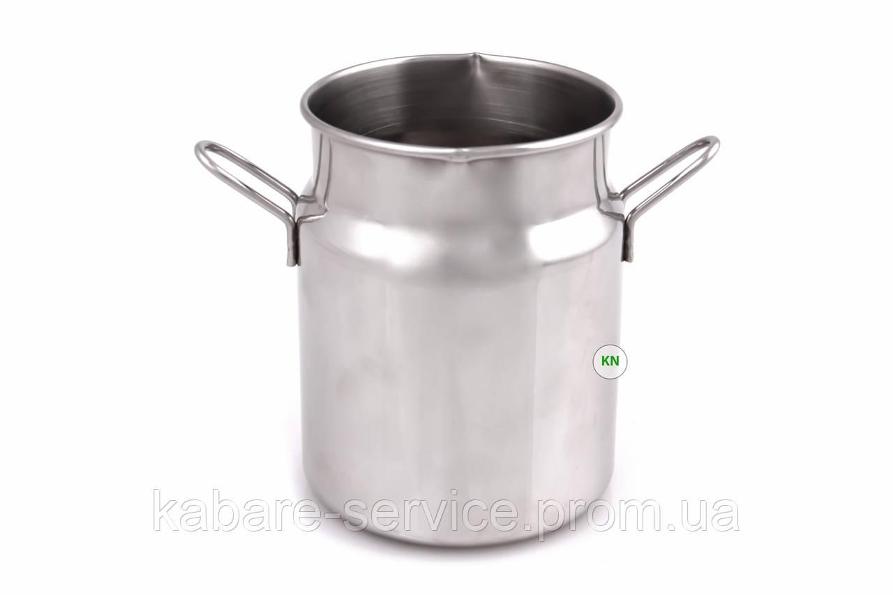 Молочник-питчер-джаг мини 105 мл (нержавеющая сталь)