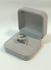 Футляр оригинальный универсальный серый бархатный 0622