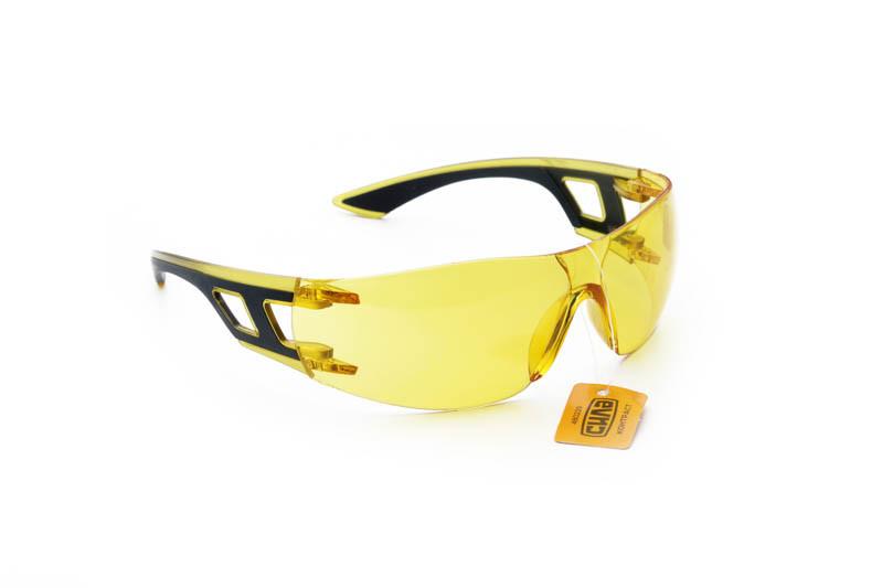 Очки защитные КОНТРАСТ желтые