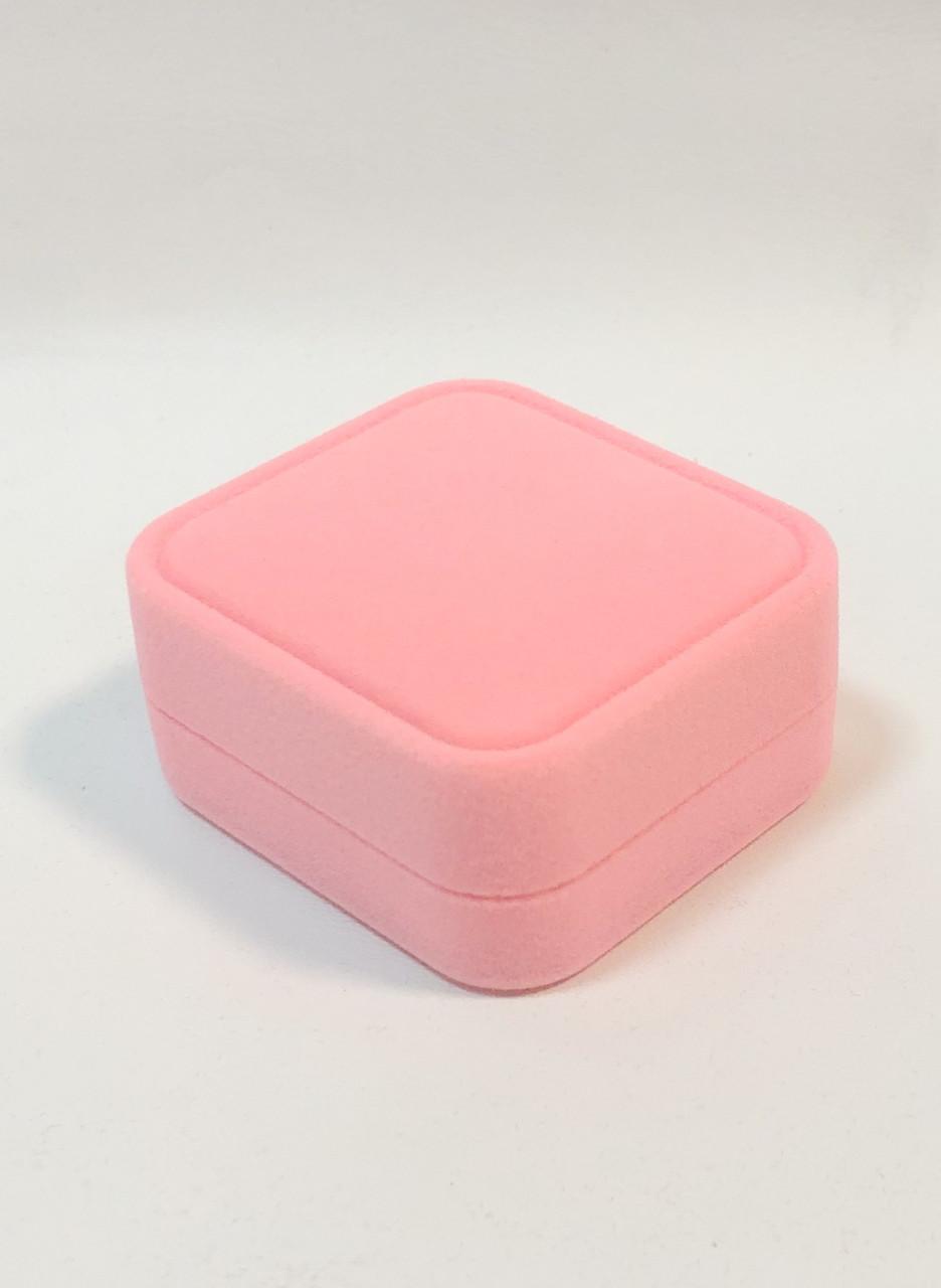Футляр оригинальный универсальный розовый бархатный 0622