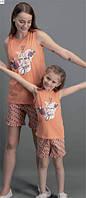 Комплект майка+шорты для девочки, фото 1
