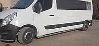 Боковые пороги  Renault Master 1998-2010 /длинн.база /Ø60,без проступей