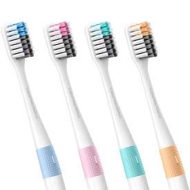 Набор зубных щеток Xiaomi DOCTOR·B Colors 4 шт. (Bass method)