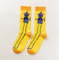 Смешные яркие носки