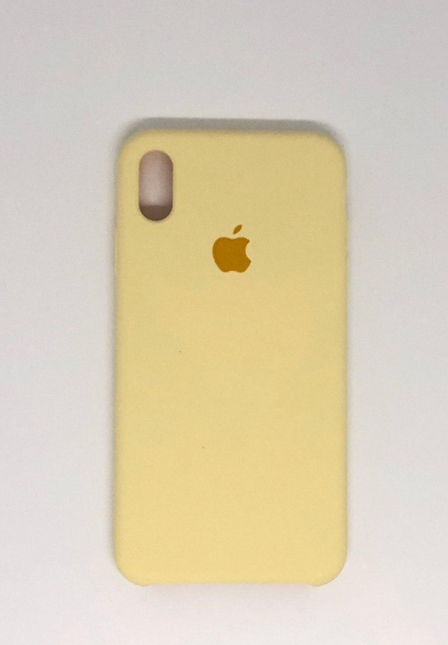 "Чехол Silicon iPhone X - ""Канарейка №51"""