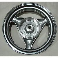 """Задний титановый диск для скутера (размер 3.50*13"""" 19 шлицов) для барабанных тормозов"""