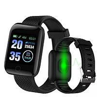 Фитнес-браслет Smart Band 116 Plus смарт часы спортивные Акция