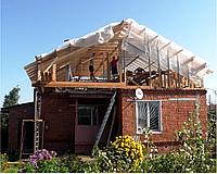 Реконструкция кровли, мансарды, замена и переделка крыши дома