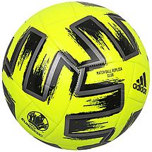 Мяч футбольный Adidas Uniforia Club Euro 2020 №5 FP9706 Желтый (4062054553402), фото 3