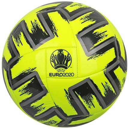 Мяч футбольный Adidas Uniforia Club Euro 2020 №5 FP9706 Желтый (4062054553402), фото 2