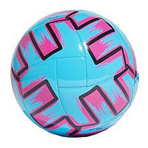 Мяч футбольный Adidas Uniforia Club Euro 2020 №5 FH7355 Синий (4062054763061), фото 2