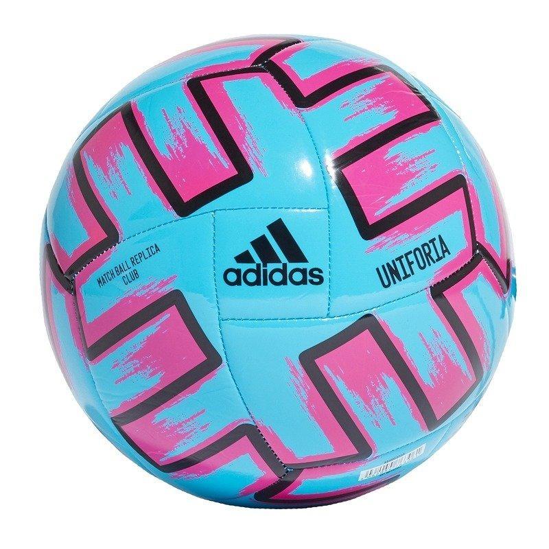Мяч футбольный Adidas Uniforia Club Euro 2020 №5 FH7355 Синий (4062054763061)