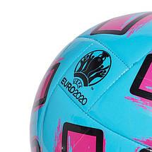 Мяч футбольный Adidas Uniforia Club Euro 2020 №5 FH7355 Синий (4062054763061), фото 3