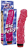 Реалістичний вібратор Big Jelly рожевий (Німеччина), фото 5