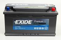 Аккумулятор Exide Premium 100AH/900A (EA1000)