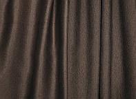 Портьерная ткань для штор Блэкаут шоколадного цвета (Elizabet KT P18-06-19/280 Bl)