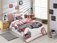 Подростковое постельное белье HOBBY Poplin Drift красный