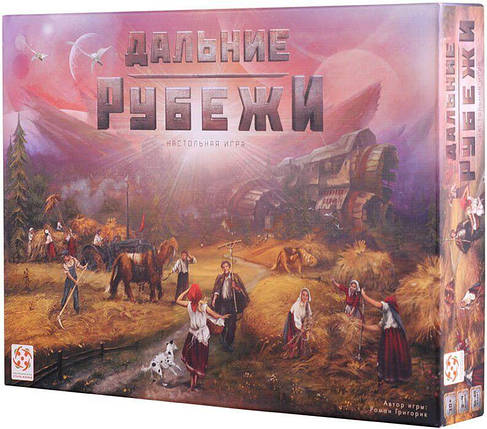 Настільна гра Дальні рубежі (Red Outpost) рос., фото 2