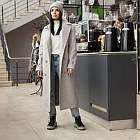 """Модное женское весеннее пальто """"Торонто"""", пломбир"""