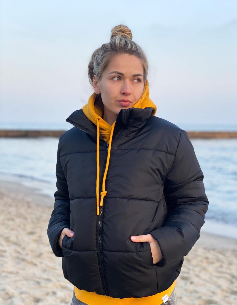 Стеганная объемная куртка