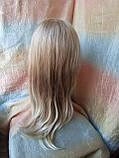 Парик длинный без челки медовый блонд 1625-27TТ613C, фото 4