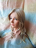 Парик длинный без челки медовый блонд 1625-27TТ613C, фото 2