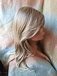 Парик длинный без челки медовый блонд 1625-27TТ613C, фото 5