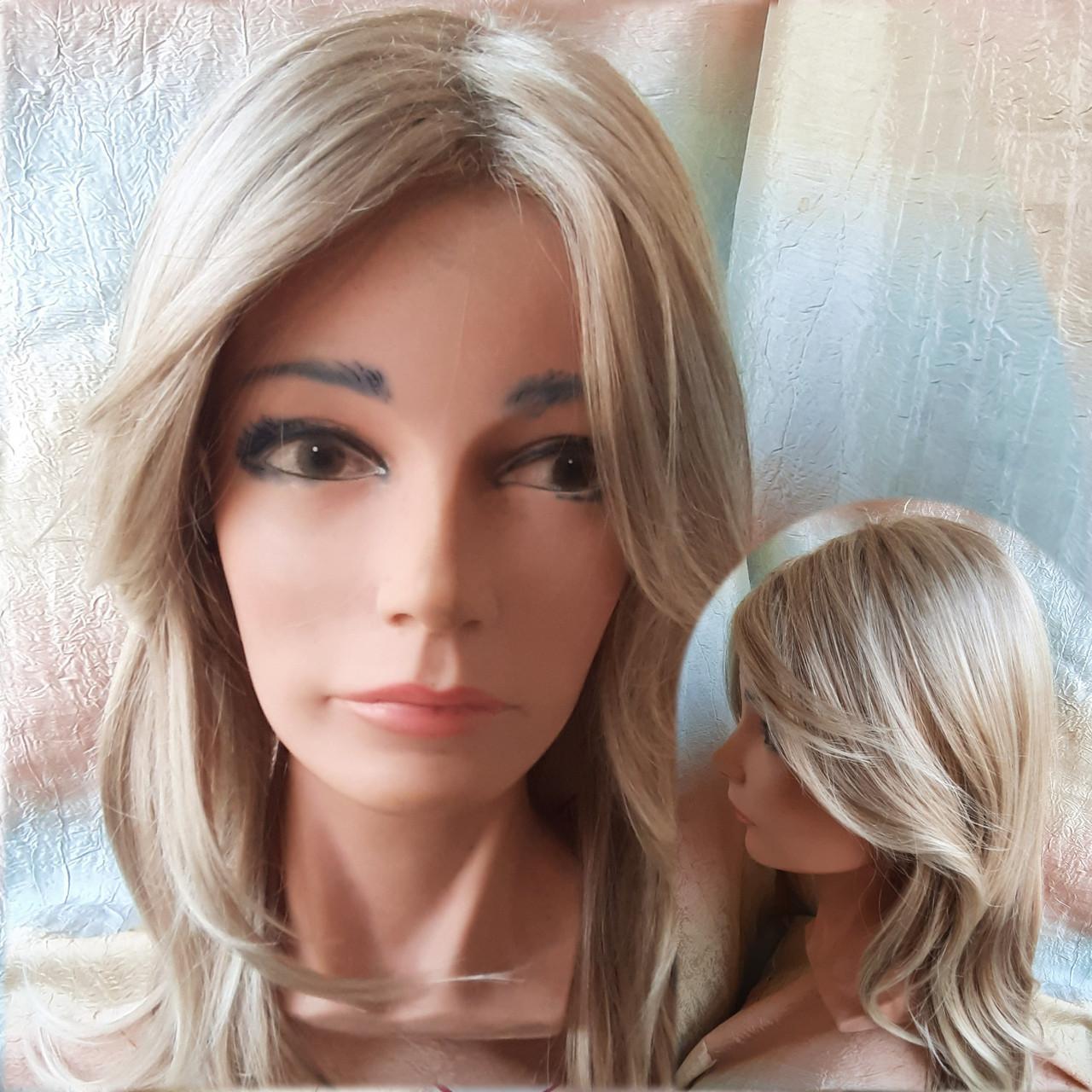 Парик длинный без челки медовый блонд 1625-27TТ613C