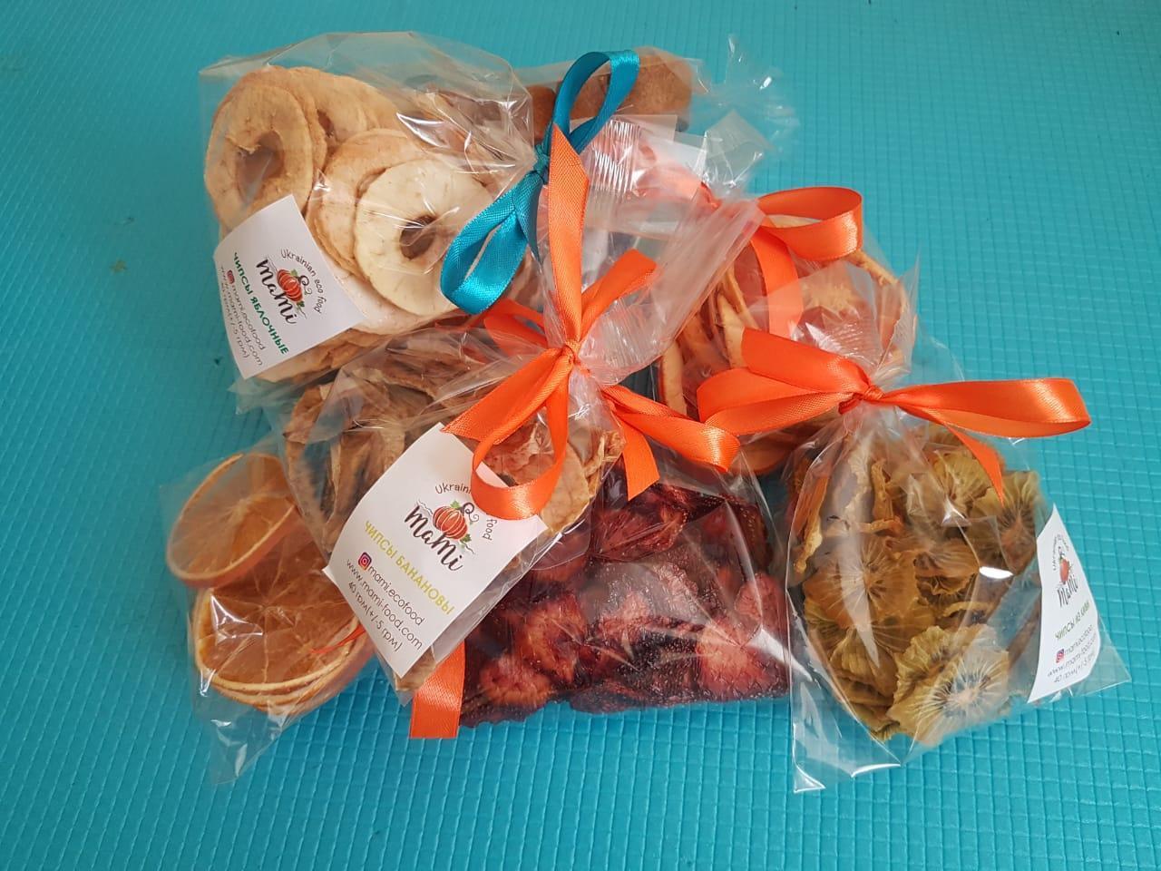 Чипсы грейпфрут прозрачная упаковка, 40 гр