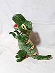 Плед мягкая игрушка 3 в 1  Динозавр зеленый (16), фото 3