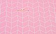 Сатин (хлопковая ткань) розовая геометрия (85*160), фото 2