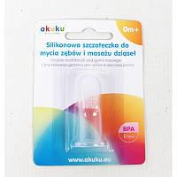 AKUKU Зубная щётка силиконовая Оригинал