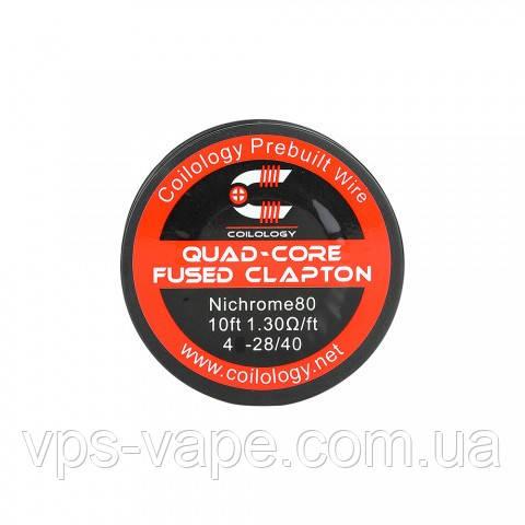 Катушка Coilology Quad Core Fused Clapton Wire
